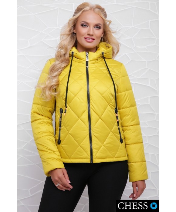 Куртка М-63 Моника (лимонная 42 р)