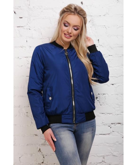 Куртка-ветровка  М-098 Диана светло синяя  (42,44,48,50 р)
