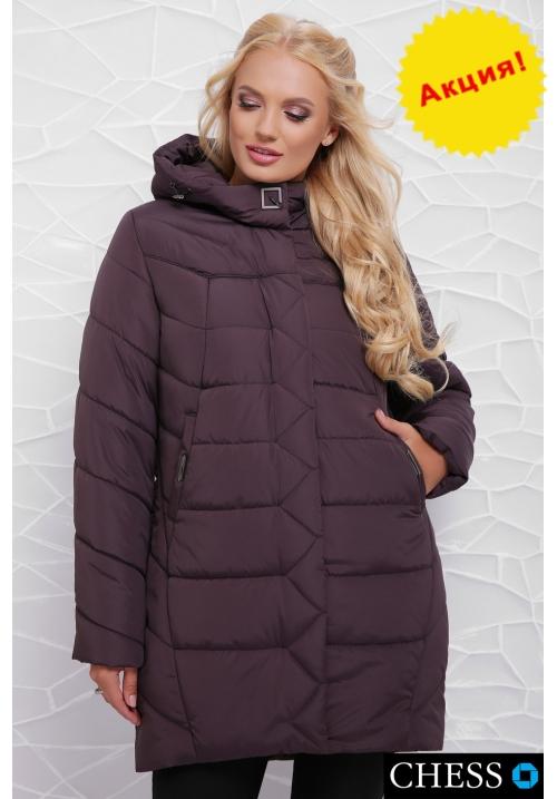 Куртка женская М-64 Елизавета (лиловый  50-58 р)