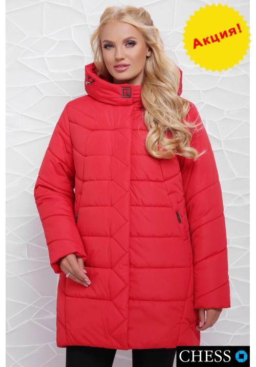 Куртка женская М-64 Елизавета (красная 50-58 р)