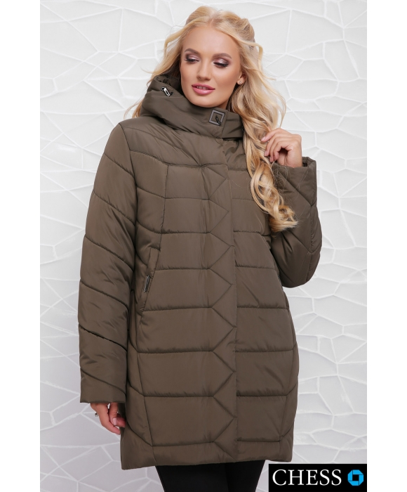 Куртка женская М-64 Елизавета (хаки 58 р)