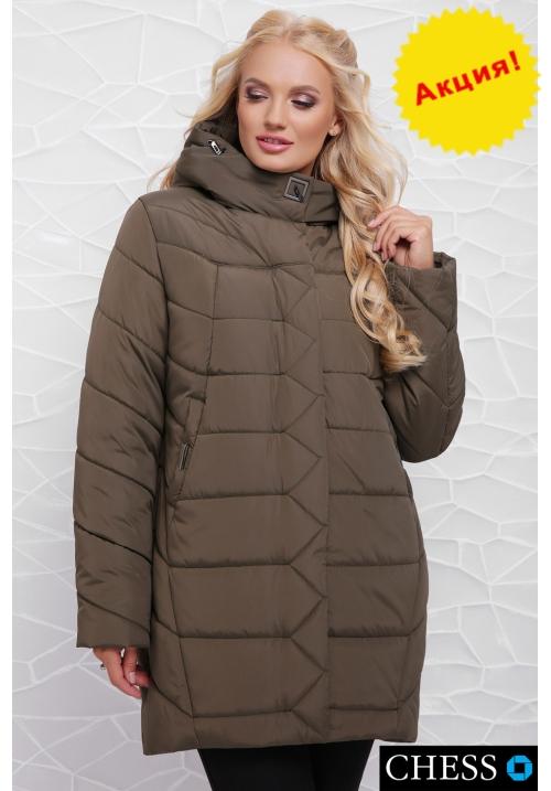 Куртка женская М-64 Елизавета (хаки 50-58 р)