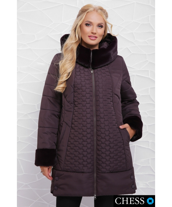 Куртка женская М-62 Нино (лиловая 50-58 р)
