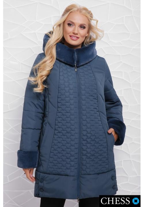 Куртка женская М-62 Нино (морская волна 50-58 р)