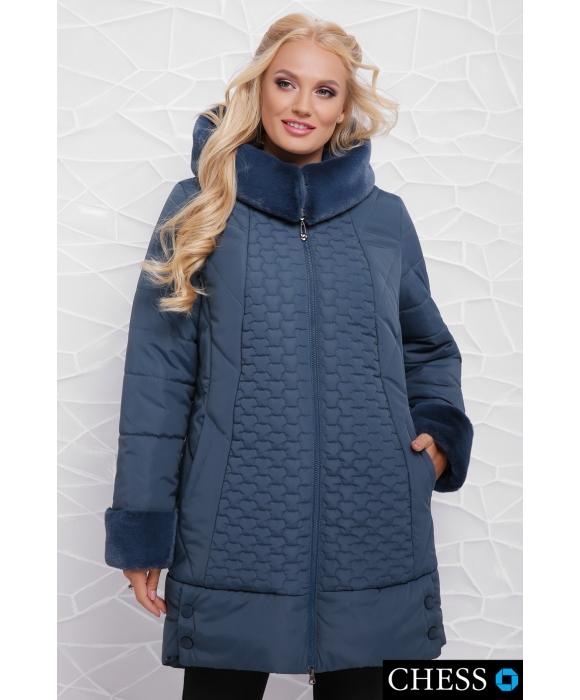 Куртка женская М-62 Нино (морская волна 50,52,54 р)