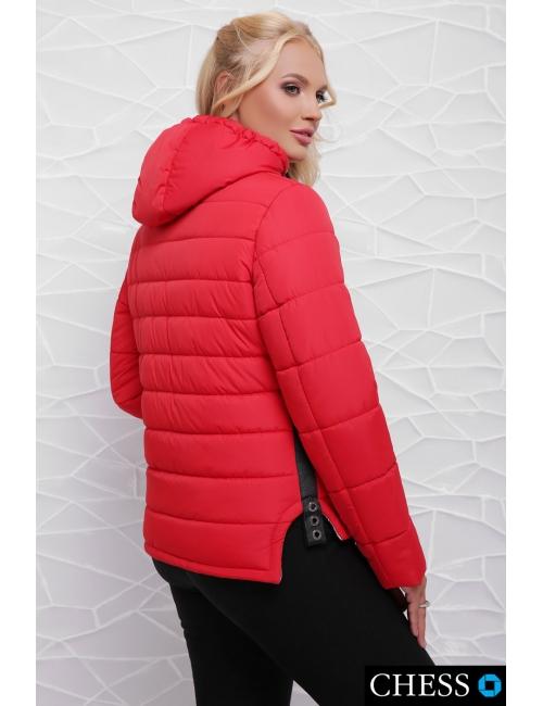 Молодежная куртка М-63 Моника (красная 42-48 р)