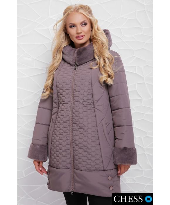Куртка женская М-62 Нино (мокко  50-58 р)