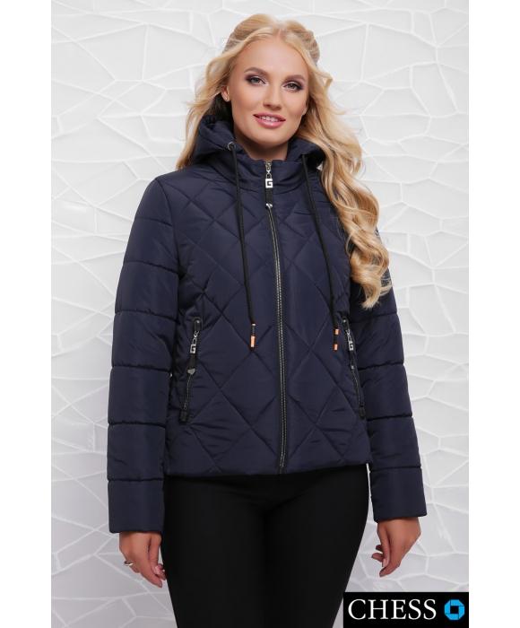 Куртка М-63 Моника (темно синяя 42,44,46 р)