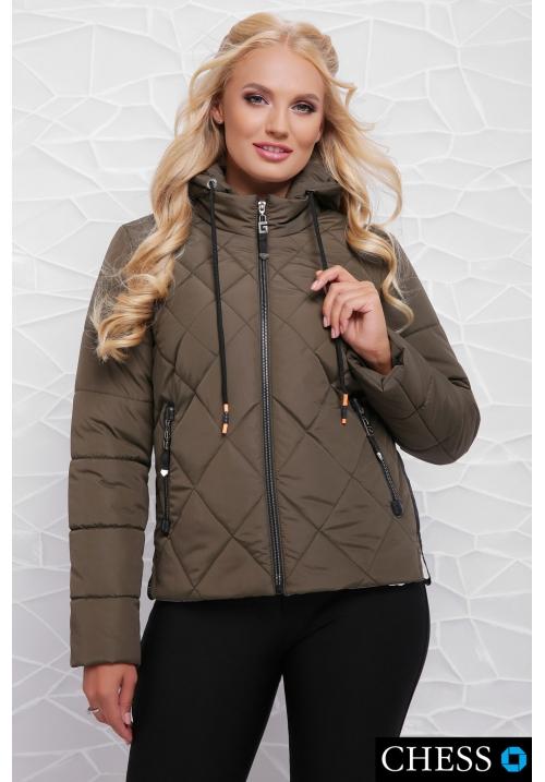 Молодежная куртка М-63 Моника (хаки 42-48 р)