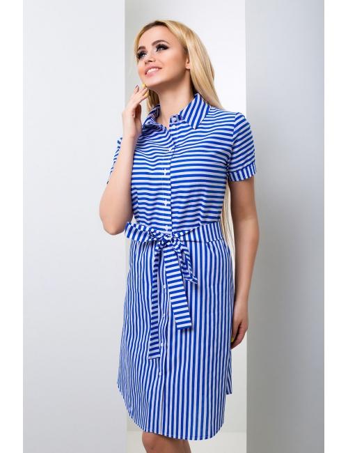 Платье - рубашка Морячка М-1044